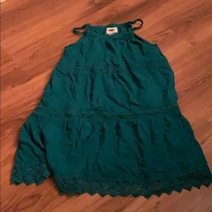 4/$35 Old navy green dress size small 6-7